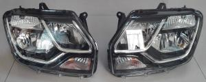 China Renault Dacia Duster 2014 Spare Parts of Head Lamp Head Lamps Head Lights 260105828R 260606709R on sale
