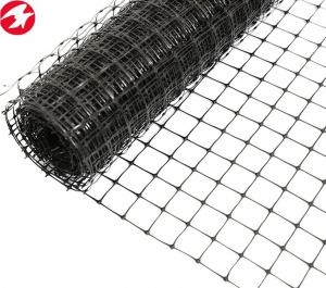 China Black plastic PP extruded BOP farm fence for crop protection on sale