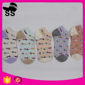 China 2017 Cotton Custom Online Shopping Quick Dry Sports Protect Cute Dogs Pattern Kids Baby Socks on sale