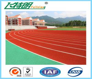 China Synthetic Running Track Spray Coating System Or Paint System Running Track For Track Field on sale