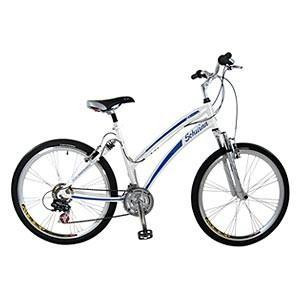 China 26 ladies princess white bicycle for sale supplier