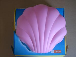 China shell shape baby wall lamp on sale