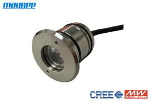 China Exterior Waterproof 3w Underwater LED Dock Lights With Brass Housing on sale