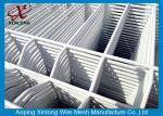 Convenient Installation Welded Wire Mesh Sheets , Pure White 3D Wire Mesh Fence