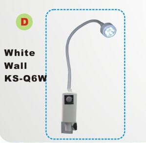 China LED examination light,surgical light,medical light KS-Q6 white wall mounted type,6W for diagnositc on animals on sale