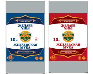 China Farine / riz emballage en vrac BOPP laminé pp sacs tissés 10KG on sale