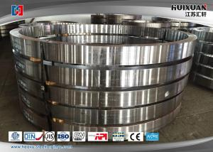 China 50Mn Large Diameter Forged Steel Flanges Engineering Slewing Bearing Flange on sale