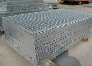 China 3mm Thickness Galvanized Steel Grating Flat Cooling Towers Gratings on sale