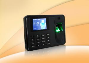 China Desk Fingerprint Time Attendance System with SD card and USB , biometric scanner on sale