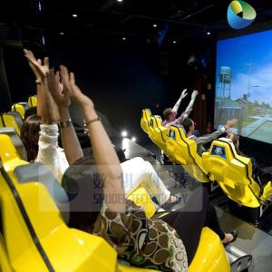 China Simulator 4D movie theater with 4D cinema seat 3D theater system for sale on sale
