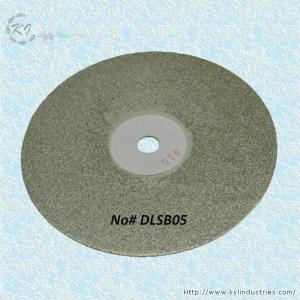 China Diamond Coated Flat Lap Disk Wheel for Rough Grinding Jewelry Glass and Lapidary on sale