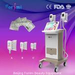 2 máquinas de congelação gordas da grande barriga rápida gorda do emagrecimento da remoção da máquina do emagrecimento do corpo do cryolipolysis dos punhos