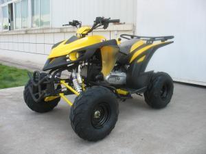 Yellow Powerful Kandi 150cc Atv Wheel Base 1160mm Quad Bike For