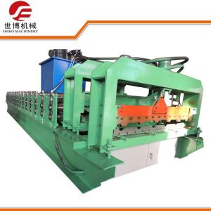 China Glazed Tile IBR Roll Forming Machine , Corrugated Iron Sheet Making Machine 1115 on sale