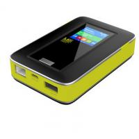 4g mifi router with dual sim card slots and RJ45port
