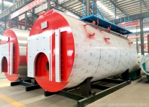 China High Efficiency Diesel Fired Steam Boiler Skid Mounted For Textile Industry on sale