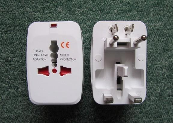 110v-250V 10A Universal travel adaptor with Surge protector with ...