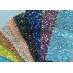 Fashion Chunky Glitter Fabric 3D Glitter Fabric For Hairbows 54/55 Width