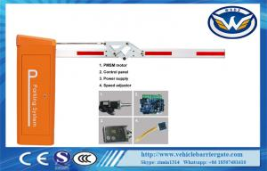 China 0.9s 3m High Speed DC Motor Traffic Electronic Barrier Gates With Folding Arm , CE Approved on sale