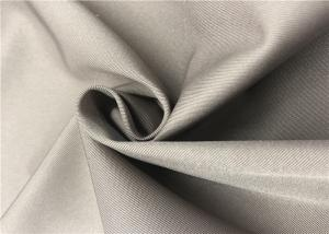 China 2/1 Twill Coated Polyester Fabric Cold Proof Anti Friction For Jacket / Winter Coat on sale