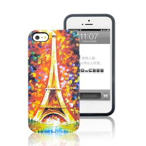 China 2014  Wholesale Oil Painting  PC and TPU Phone  Case  for iPhone 5S on sale