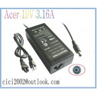 China Acer 19V 3.16A 5.5X2.1mm Notebook Replacement AC Adapter,Black 60W Laptop Adapters on sale
