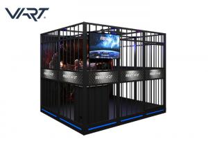 China Multiplayer VR Theme Park With 43 Inch HD Large Screen English Version on sale