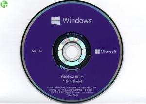 China Microsoft Windows 10 Software Korean Version OEM 64 Bit Package FQC - 08983 on sale