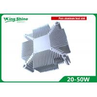 China 20W - 50W Pure Aluminium Heat Sink Radiator Diy Led Grow Light Kit For Cob Led Cooler Cooling on sale