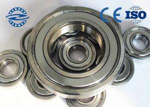 China High Precision Ball Bearings , Miniature Ball Bearings 6005Z For Bearing Radial Load on sale