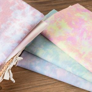 China Wholesale Factory Textile Knit Jersey 100% Cotton Tie Dyed Fabric For Shirt on sale
