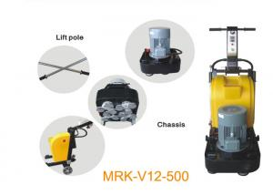 China Magnetic Plate Marble Manual Floor Polisher 7.5HP 380V / Concrete Floor Grinder on sale