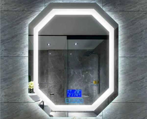 Rectangle Arch Oval Fog Free Bathroom Mirror 4mm Silver Coated