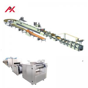 China 220V/380V Automatic Biscuit Production Line , Durable Biscuit Manufacturing Machine on sale