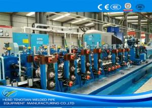 China Friction Saw Precision Tube Mill Galvanised Coil Automatic Control 80m / Min Running on sale