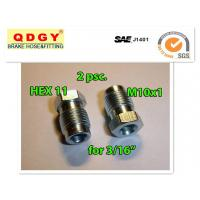 """China 3/16"""" line metric brake line fittings 10mm x 1.0 thread pitch on sale"""