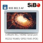 SIBO Wall Mounting Android tablet with POE Wifi Touch Screen Panel PC