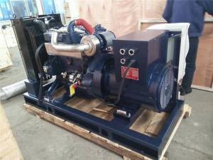 Quality Brushless Diesel Generator Sets , 40 KW Silent Diesel Generator For Tankers for sale
