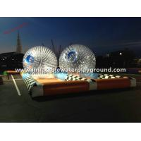 0.7mm TPU Inflatable Zorb Ball , Body Zorbing Ball Rental For Kids Fun Sports