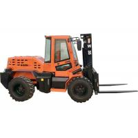 Rated Load 3.5 Ton Small Forklift Wheel Loader W35 With XINCHAI 490 Engine