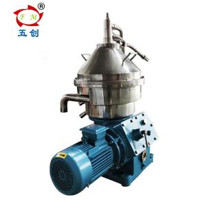 China Low Noise Disk Cream Centrifugal Separator , Disc Stack Separator HGDH315 on sale