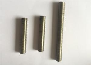 China Hot Press ASTM B166 Inconel Fasteners , Alloy 601 Hex Head Bolt Full / Partial Thread on sale