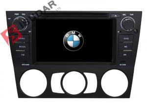 China Support Digital TV Double Din Dvd Gps Car Stereo , BMW E92 Sat Nav For Manual Air Condition on sale