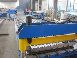 China Corrugated Roofing Sheet Roll Forming Machine on sale