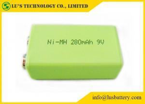 China 9V 280mah Prismatic Nimh Battery / 6F22 9v Battery High Energy Density on sale