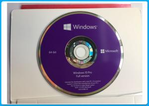 China Windows 10 Pro 32/64 bit DVD English / French / Russia / Spanish / Polish Version activation online wholesale