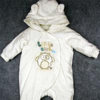 Long Sleeve Baby Winter Snowsuit Spring / Autumn / Winter Footed Rompers