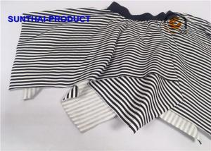 China Navy Stripe Printing Little Girl Summer Dresses Exposed Elastic Baby Girl Skirt on sale