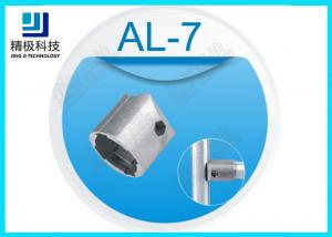 China Outer Metal Tube Connectors Aluminum Tubing Joints Hexagon Aluminium Tubing Joints on sale