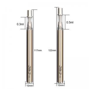 China C10 510 Thread E Smoke Batteries 93mm Length Convenient To Carry No Buring on sale